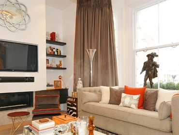 West Hampstead Living Room